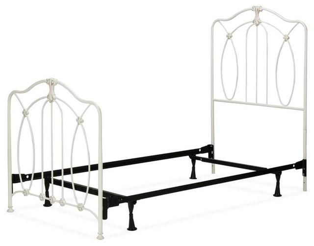 Kids Panel Bed, Soft White, Full.