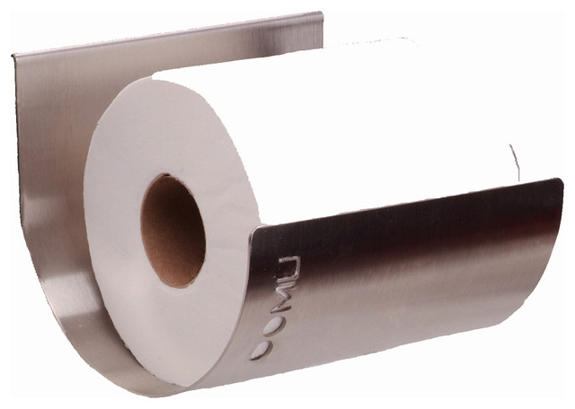 Toilet Paper Bin With Wall Mount Rail Stainless Steel