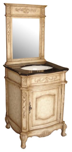 "24 Bathroom Vanities And Sinks verona 24"" bathroom vanity set with countertop and mirror"