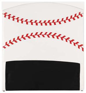 All-Star Headboard, Baseball, Twin