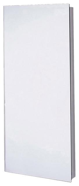 "Corner Series Medicine Cabinet, 14""x30"", Polished Edge"