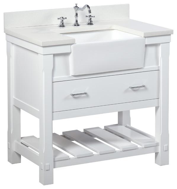 65 Inch Bathroom Vanity Single Sink: Charlotte Bathroom Vanity
