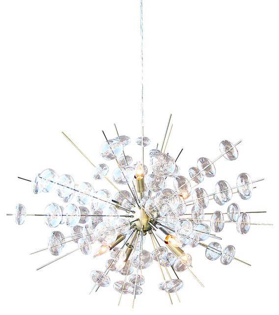 bubbles antique brass chandelier - Brass Chandelier