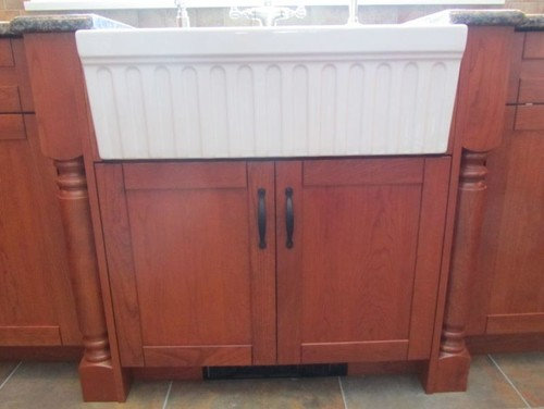 farm sink base cabinet kohler whitehaven 36 quot or 33 quot and base cabinet size 7134
