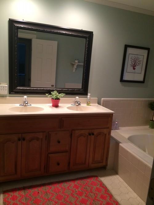 Paint Color Choice To Update My Master Bathroom Vanity - Update my bathroom