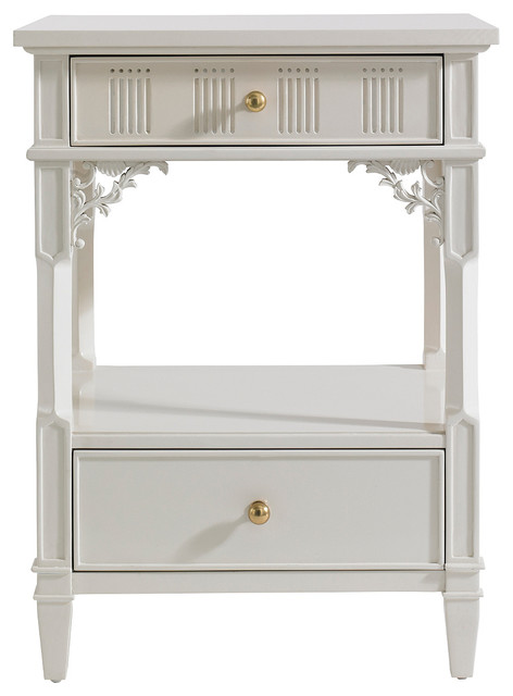 Stanley Furniture Charleston Regency Palmetto Telephone Table Traditional Side Tables And End By Seldens