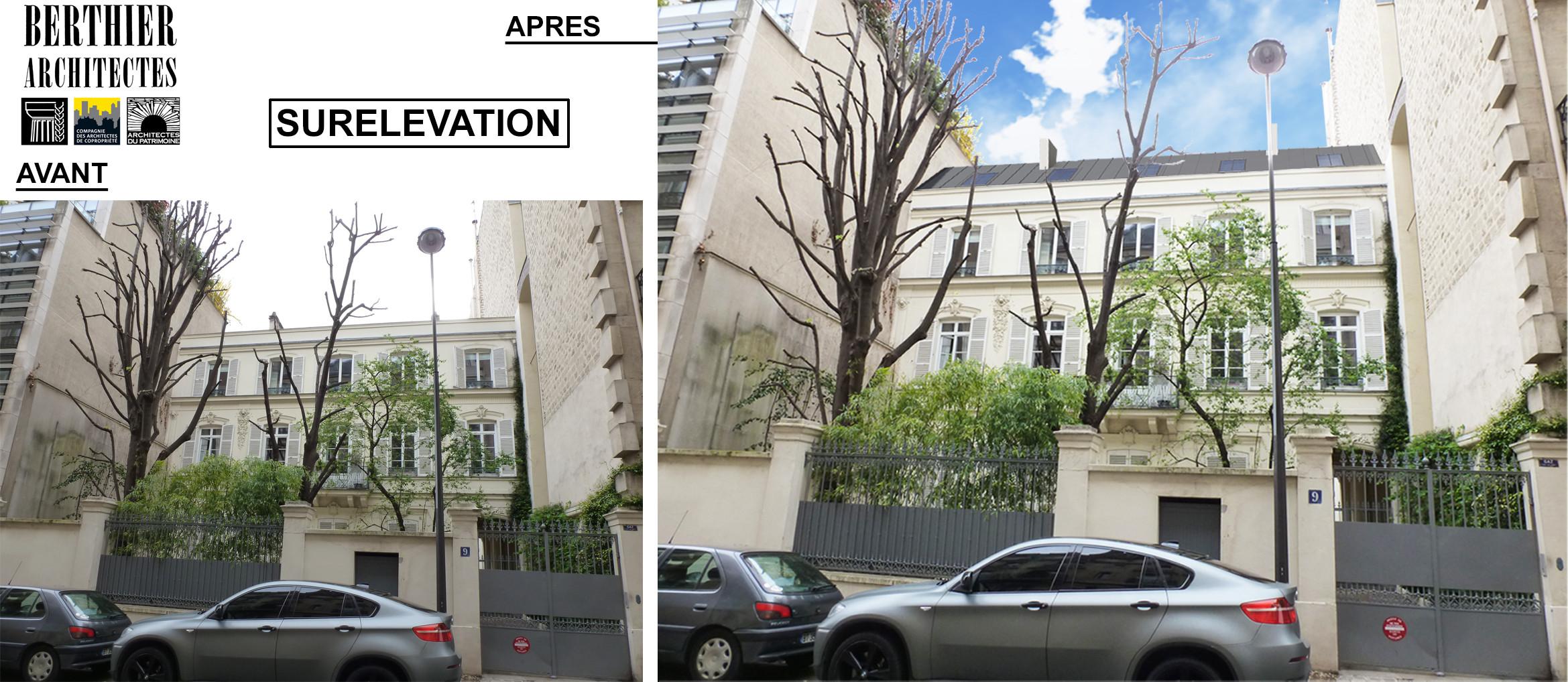 Surélévation - Paris