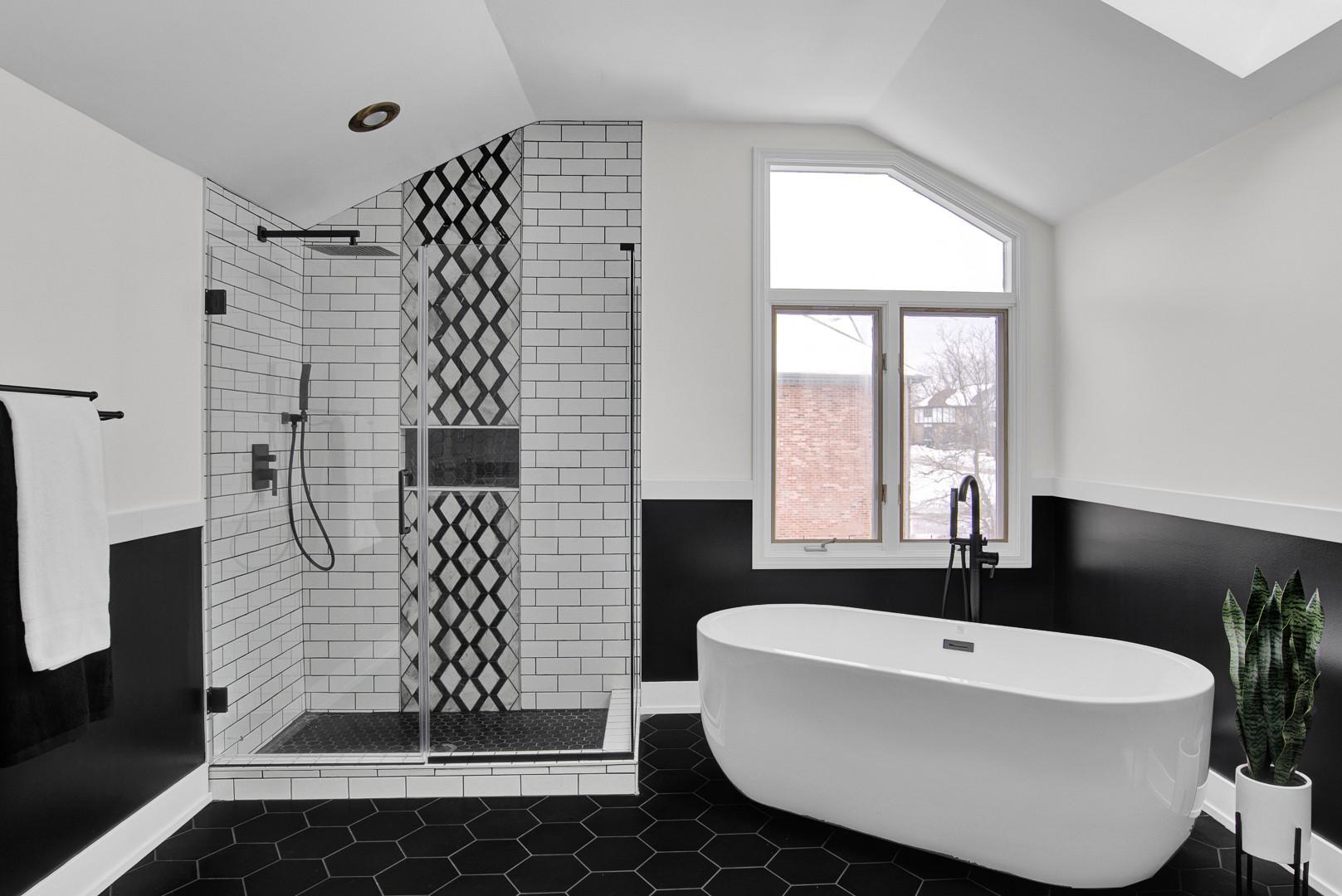 Modern Retreat Master Bathroom