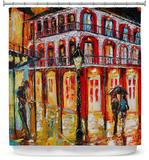 Shower Curtain Unique From Dianoche Designs New Orleans French Quarter
