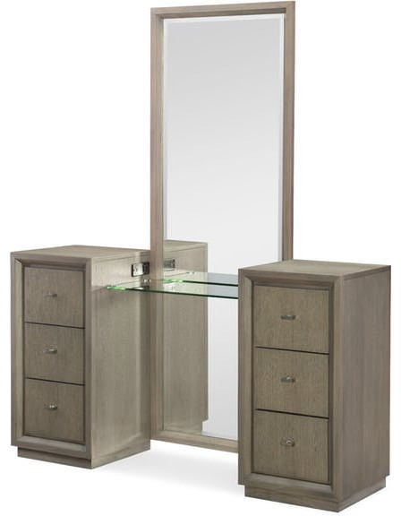 Rachael Ray Home Highline Vanity With Full Length Mirror