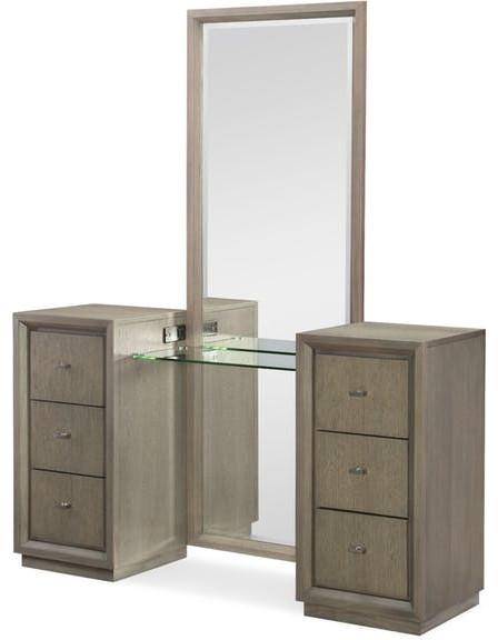 Rachael Ray Home Highline Vanity With Full Length Mirror.