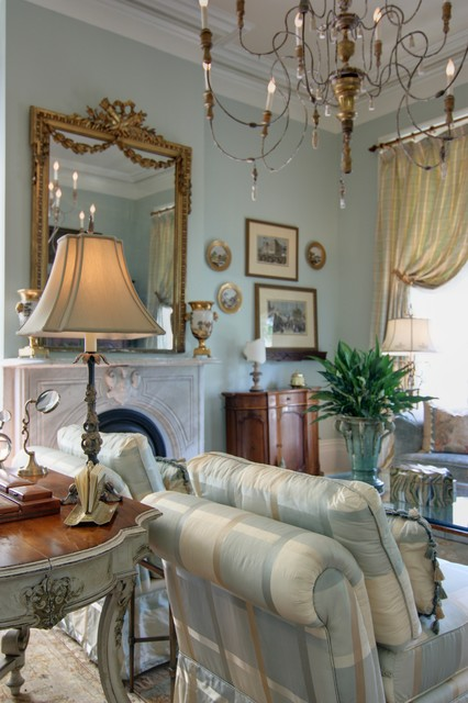 Elegant New Orleanu0027s Living Room Traditional Part 34