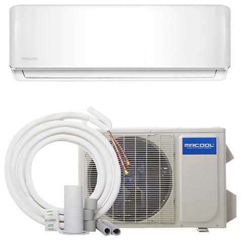 Mrcool Diy 12k Btu 17.5 Seer Ductless Mini-Split Heat Pump With Wifi.