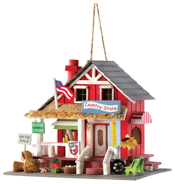 Country Store Birdhouse Birdhouses By Verdugo Gift Company