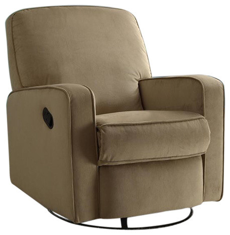 Jonathan Swivel Recliner, Tan