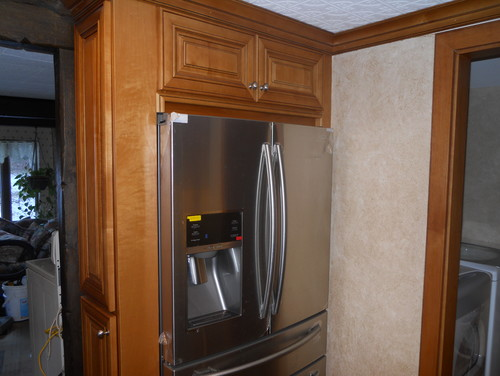 Kitchen remodeling before and after by Lily Ann Cabinets
