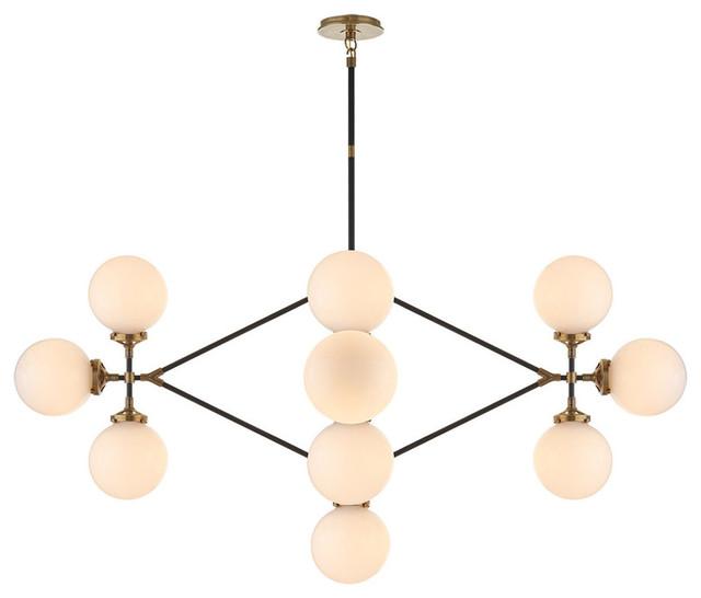 Visual Comfort Lighting Studio Bistro 13 Light Chandelier