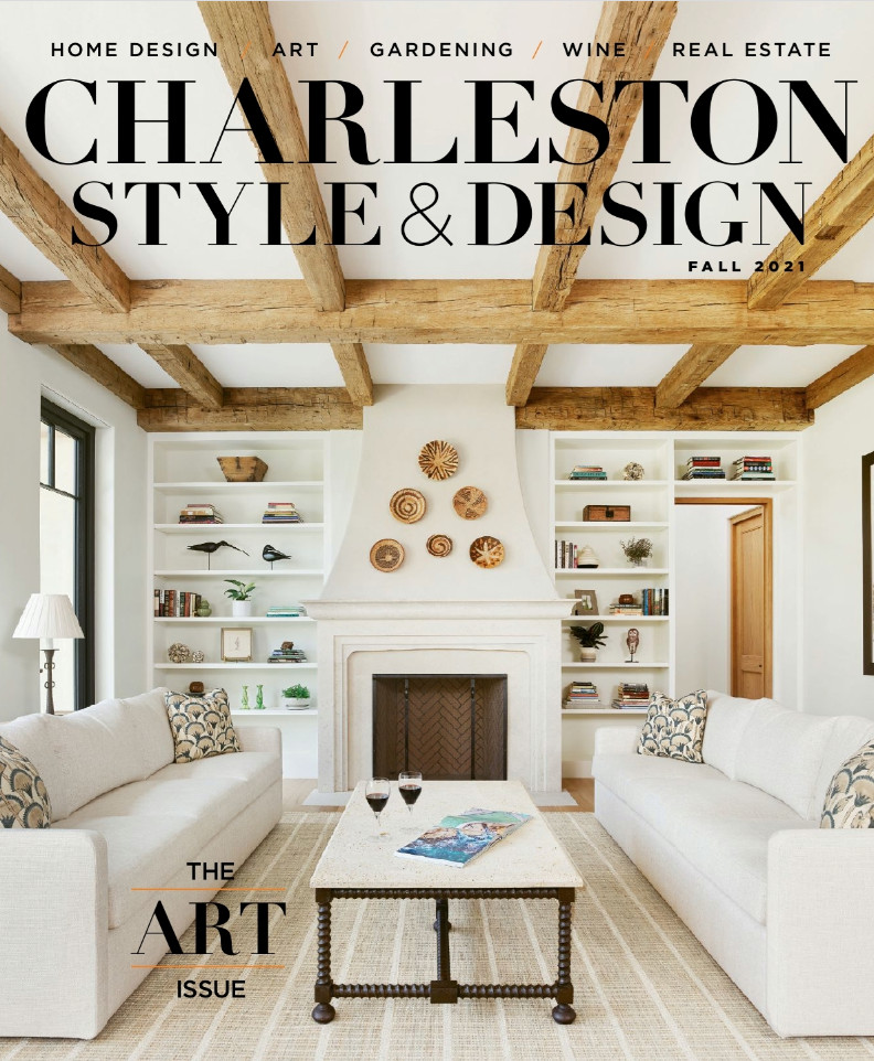 Featured in Charleston Style & Design Fall 2021