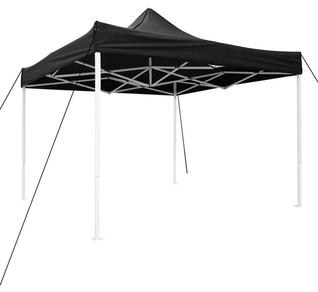 10&x27;x10&x27; Pop Up Canopy Folding Party Tent Instant Shelter, Black.