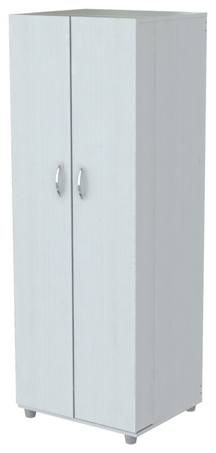 Inval Pantry/Storage Cabinet, Laricinia White - Contemporary - Storage Cabinets - by Inval America