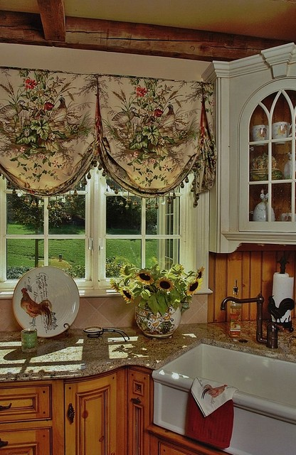 french country valances for kitchen ely farm ii traditional philadelphia by delier amp delier 6753
