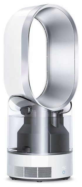 Dyson Am10 Hygienic Mist Humidifier, White And Silver.