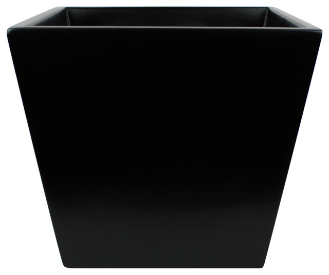 Saratoga Square Planter Box Modern Outdoor Pots And Planters By Root Stock