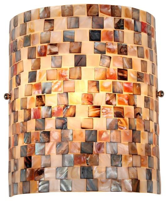 Cheyenne Mosaic 1-Light Wall Sconce