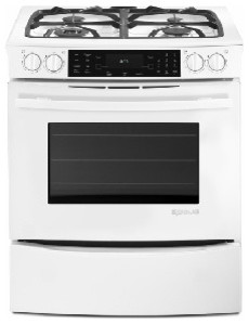 Jenn Air 30 Slide In Dual Fuel Range White On