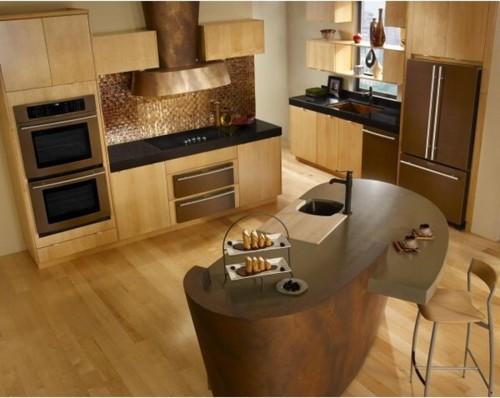 Copper Appliances Kitchen copper sinkwhat color appliances??