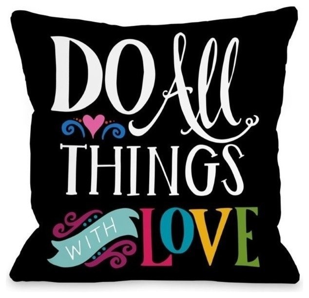 Decorative Love Pillow : One Bella Casa 16