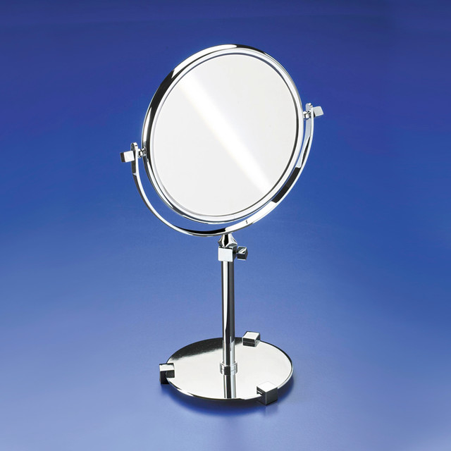 pedestal 3x gold magnifying mirror 13563