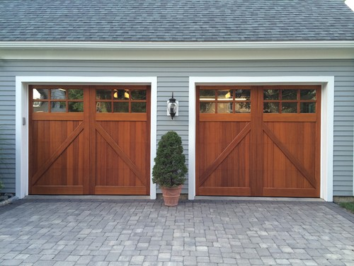 Merveilleux Beautiful Western Red Cedar Custom Carriagehouse Style Garage Doors! Clopay  Limited Edition Design 6 With An Impeccable Factory Stain Applied.
