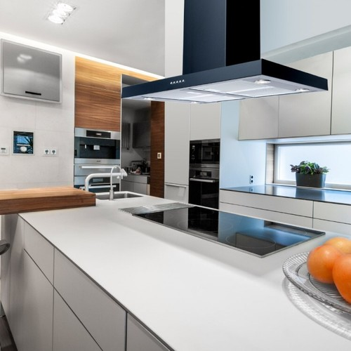 Kitchen Island Designs With Hob: Extractor Hood.... Integrated Ceiling Or An Island Hood?