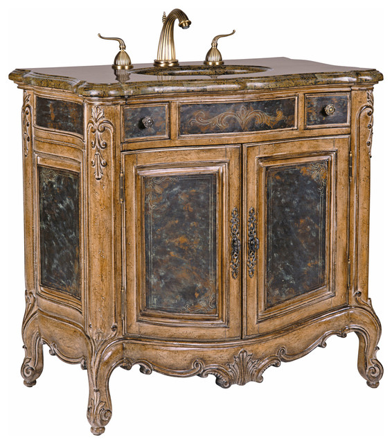Winslow Sink Chest Victorian Bathroom Vanities And Sink Consoles Other By Ambella Home Collection Inc Houzz