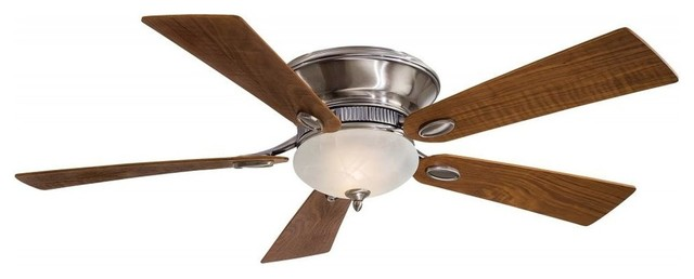 Minka-Aire Delano Ii 2-Light Pewter Ceiling Fan.