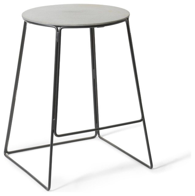 Edie Concrete Counter Stool