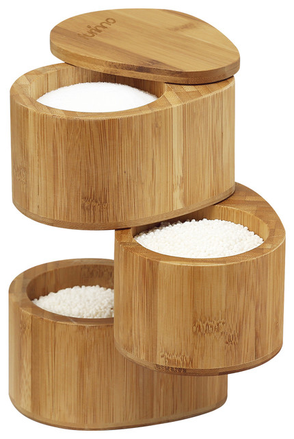 Furinno Dapur Bamboo 3-Tier Spice Can.