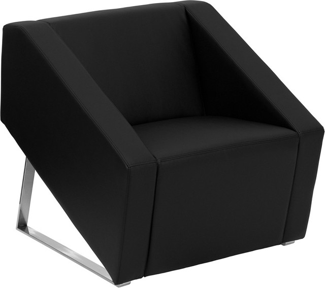 contemporary furniture chairs. Simple Chairs Art Deco Leather Chair Black And Contemporary Furniture Chairs F