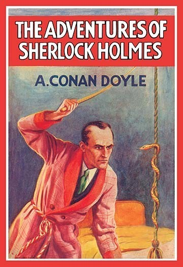 The Adventures Of Sherlock Holmes 2 Book Cover Traditional Prints And Posters By Buyenlarge Inc