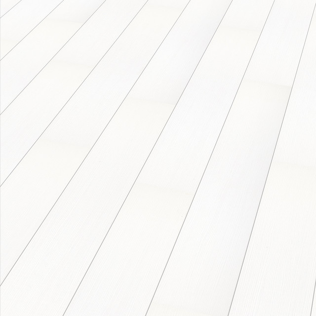 Laminated Flooring Off White : Color white arctic supergloss plank contemporary