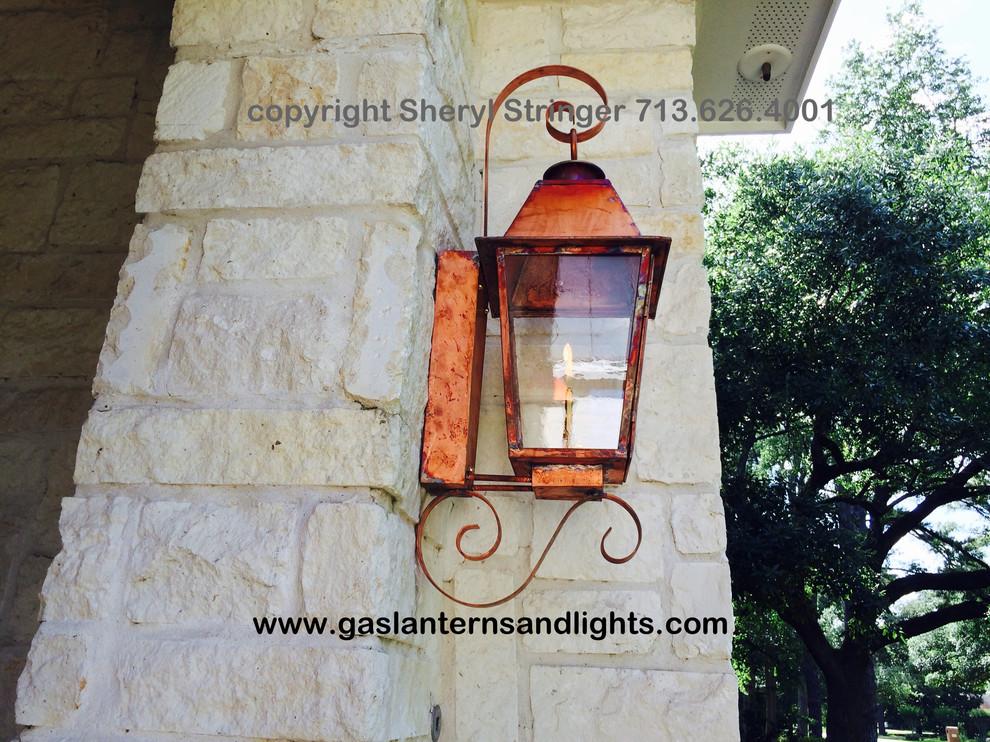 Sheryl's Hill Country Gas Lantern