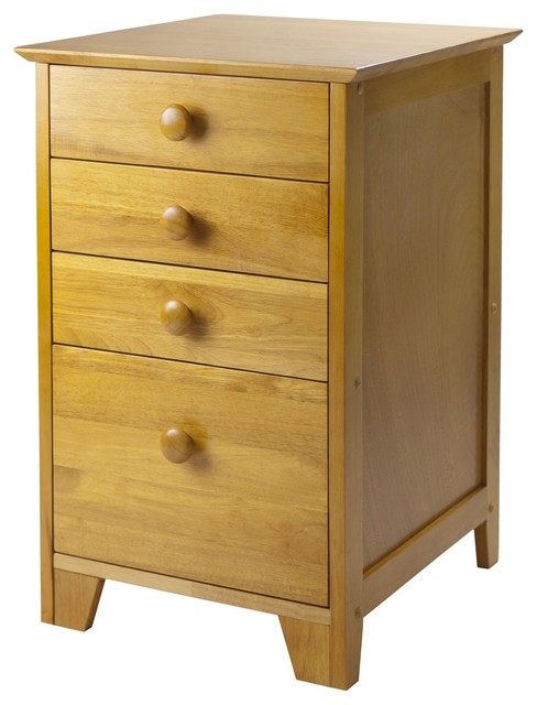 ... Filing Cabinet with Honey Finish X-82499 contemporary-filing-cabinets