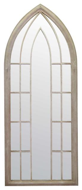Somerley Gothic Garden Mirror, 60x150 cm