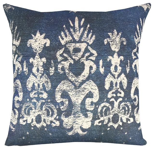 Island Shibori Pillow - Eclectic - Decorative Pillows - by TheWatsonShop