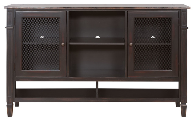 Navarro Deluxe Storage Console - Transitional - Storage Cabinets - by Martin Main