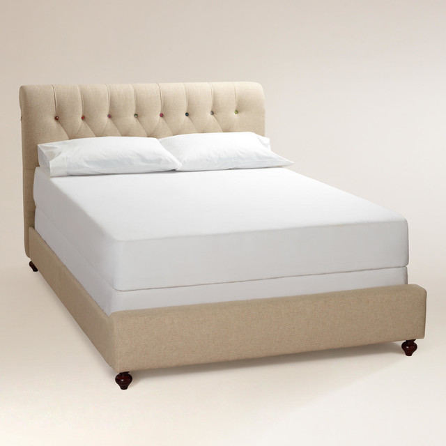 Erin Cute as a Button Bed contemporary-beds - Erin Cute As A Button Bed - Contemporary - Beds - By Cost Plus