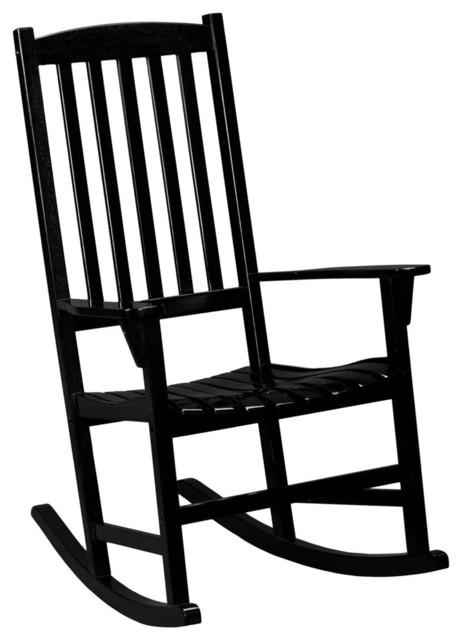Sei Porch Rocker Transitional Outdoor Rocking Chairs