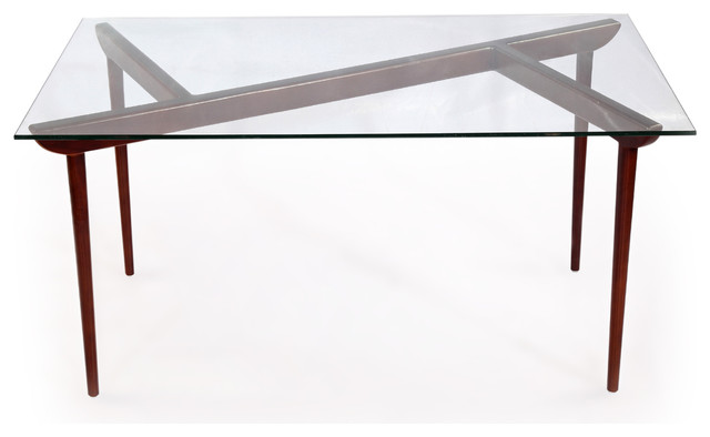 d2617ef53611 Deco Timber KO Midcentury Modern Dining Table