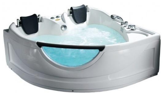 Serenada Corner Whirlpool Bathtub.